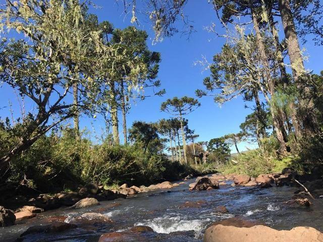 Chácara com rio em Urubici