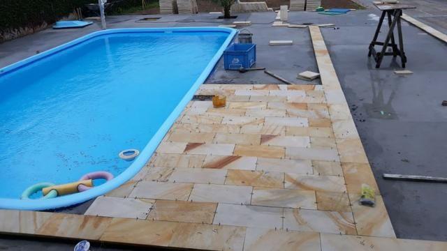 Promoção:Direto da Fábrica X piso para,piscina caxambu X Arenito - Foto 6