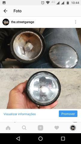 Recuperação e customização de farois e lanternas