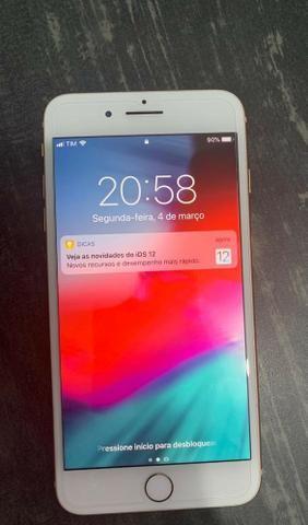 d3ce5020c07 IPhone 8 Plus 64gb Gold impecável com nota fiscal