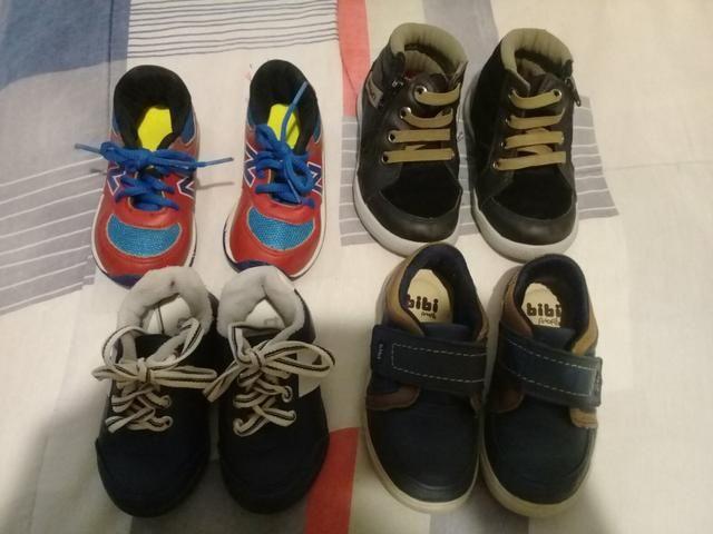 Vendo sapatos usados bem conservados