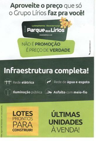 Loteamento residencial Parque dos Lirios - Rondonópolis/MT - Foto 2
