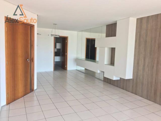 Apartamento com 3 dormitórios à venda, 126 m² por r$ 680.000 - jatiúca - maceió/al - Foto 3