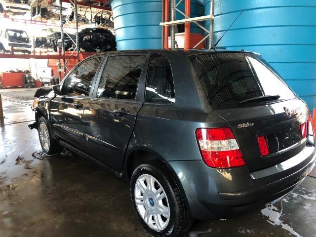 Peças usadas Fiat Stilo 2007 2007 1.8 8v flex 114cv câmbio manual