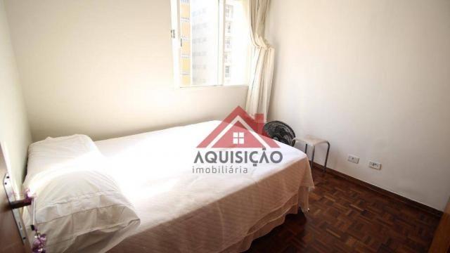 Apartamento com 3 dormitórios à venda, 87 m² por R$ 369.990,00 - Bigorrilho - Curitiba/PR - Foto 10
