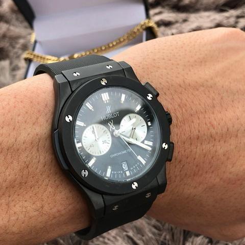 Relógio Hublot Sllim importado - Foto 4