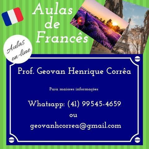 Francês - aulas particulares
