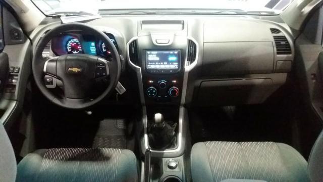 Chevrolet S10 cd 2.8 LT 4x4, MT 2016 prata - Foto 10