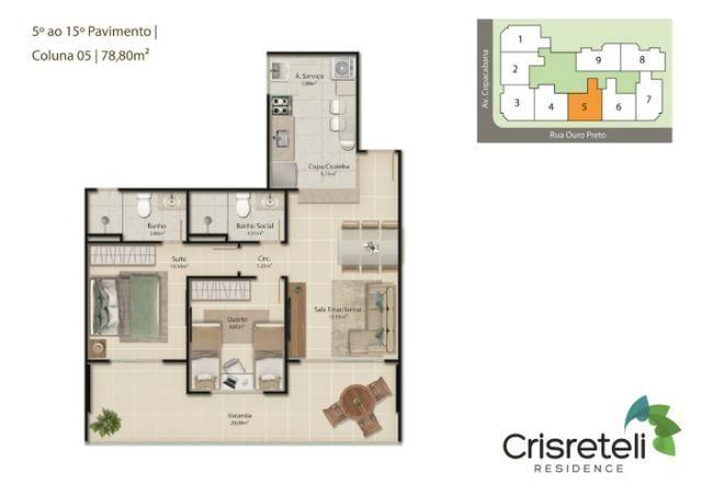 Lançamento apartamentos de 2 quartos na Praia do Morro - Foto 7