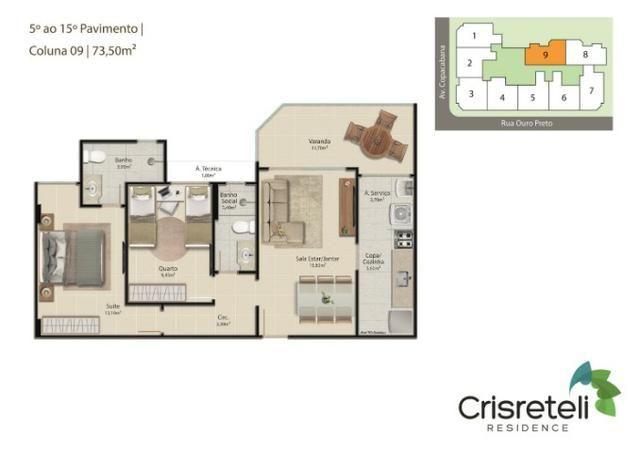 Lançamento apartamentos de 2 quartos na Praia do Morro - Foto 2