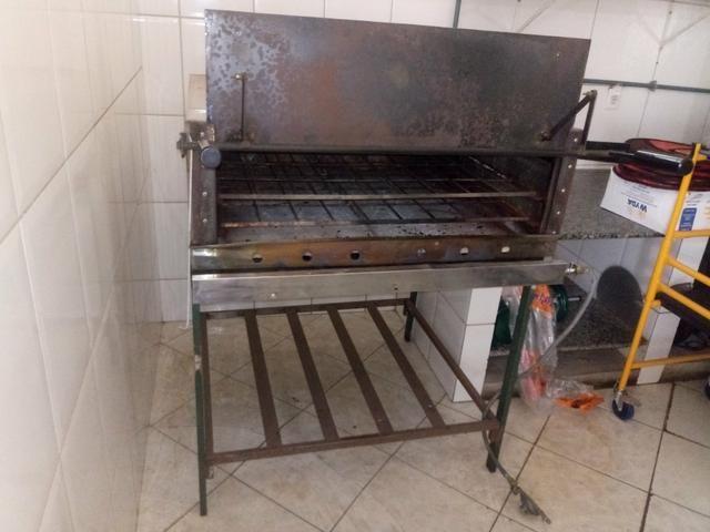 Forno inox usado p/ pizza - Foto 3