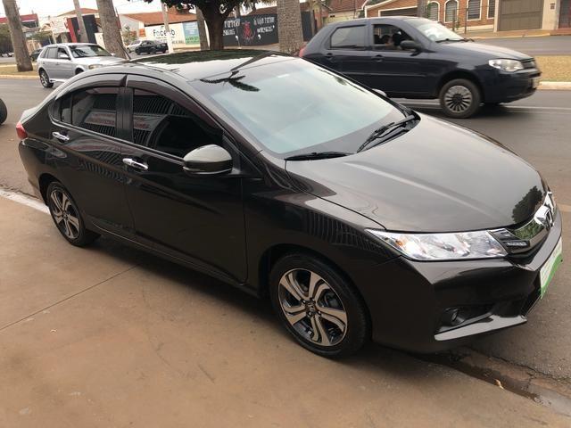 Honda city 1.5 flex exl aut 15/15 - Foto 2