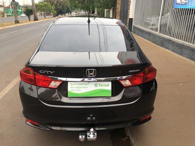 Honda city 1.5 flex exl aut 15/15 - Foto 6