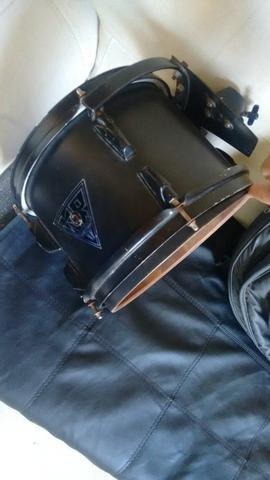 """Ton de 10"""" Marca KR Drum + Bag + Prato Turbo - Foto 2"""