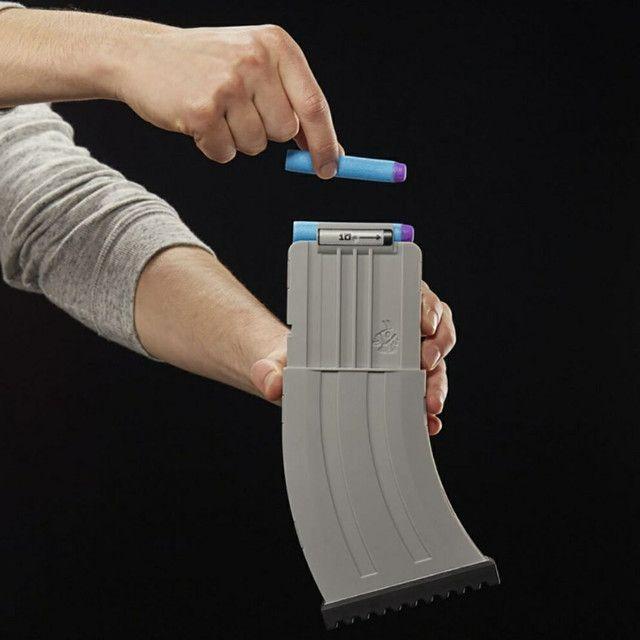 Lançador De Dardos Motorizado Hasbro Nerf Fortnite Ar-l - Foto 3