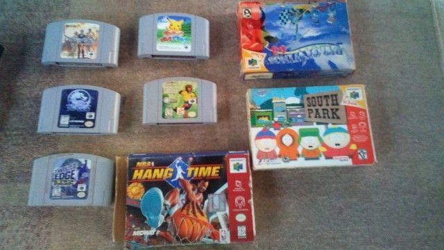 Jogos super Nintendo nitendo snes famicon n-64 - Foto 3