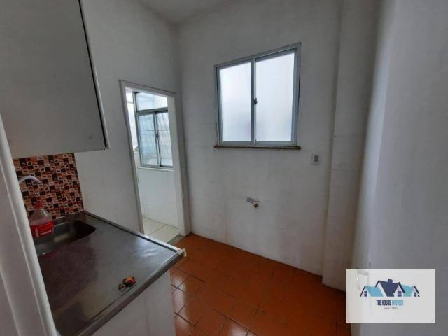 Excelente Apartamento com 1 dormitório 2 banheiros  para alugar, 50 m² por R$ 1.100/mês -  - Foto 9