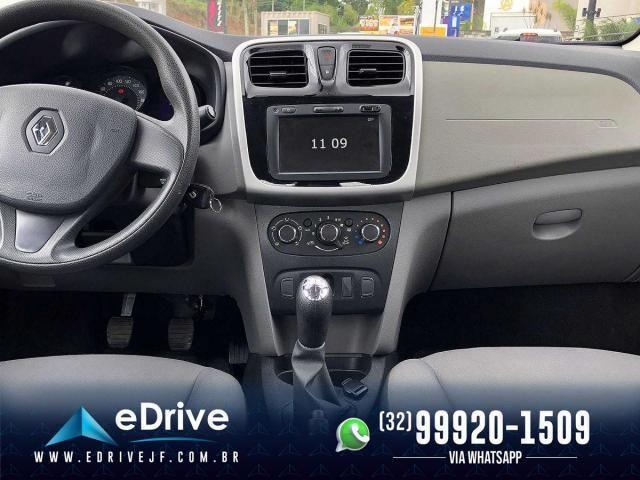 Renault Logan Expression Flex 1.6 16V 4p - Muito Espaçoso - Uber - Família - Novo - 2020 - Foto 12