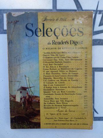 Revistas SELEÇÕES antigas de 1954 à 1971 - Foto 6