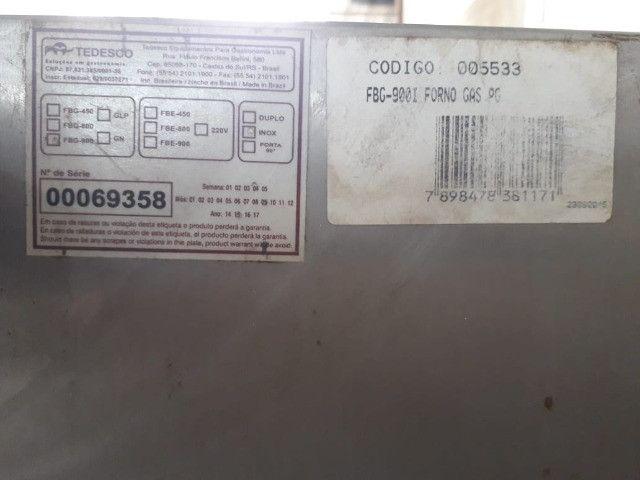 Forno a Gás Tedesco 90x90