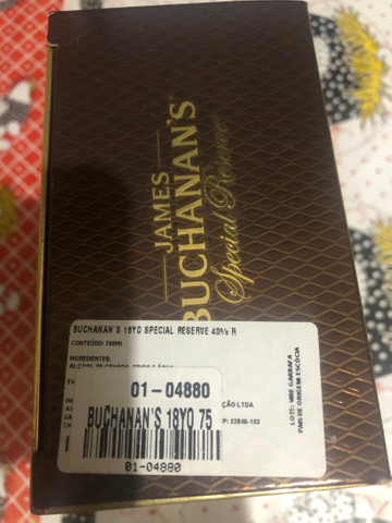 James Buchanan?s Whisky 18 anos Special Reserve - Foto 2