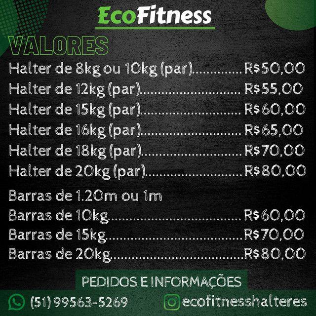 Halteres e Barras Ecológicos- cubro ofertas - Foto 6