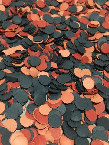 Confetes de Papel com as Cores do seu Time do Coração - Foto 5