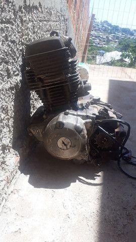 Motor de xt 225 troco por bota de trilha