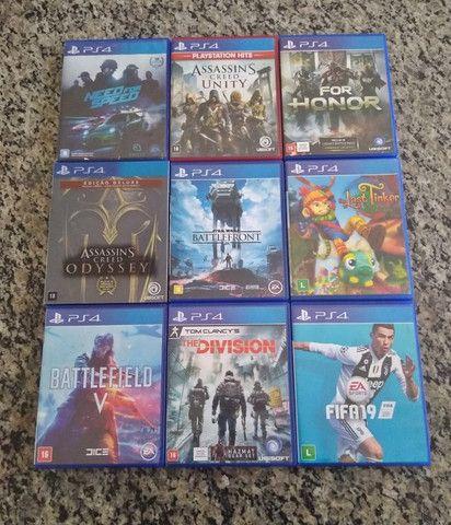 Jogos de PS4 mídia física (disponíveis) - Foto 2