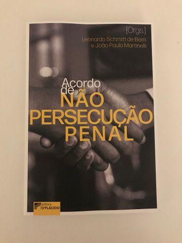 Livro Acordo de não persecução penal - Leonardo Schimitt de Bem e João Paulo Martinelli