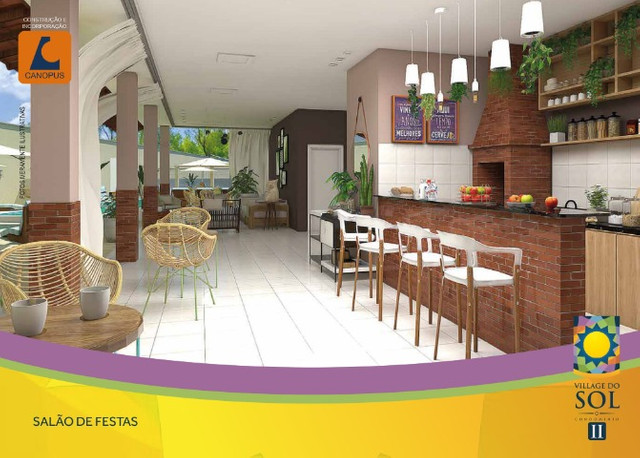 70 - Canopus Construção, apartamento com 2 quartos
