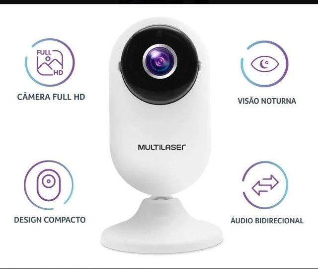 Câmera de Segurânça Wi-fi Acesso Remoto Via Celular - Foto 5