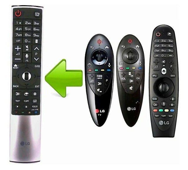 Controle Smart Magic LG An-Mr700 Tv's linha Lb Ll Ec Eg Uf Ug Uh - Foto 5