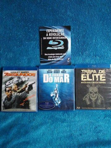 Vendo 3 DVD Bluray originais