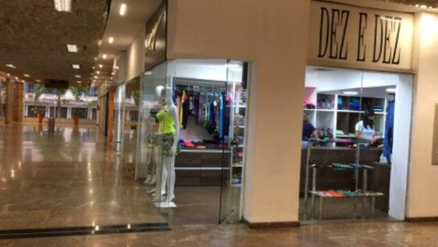 Alugo Loja Shopping Parque Balneário Gonzaga Santos - Foto 4