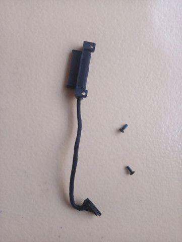 Cabo conector unidade gravador CD Np370 Np370e4k Notebook Samsug