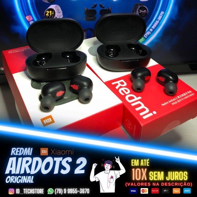 RedMi Airdots 2 100% Original! + Brindes!!!