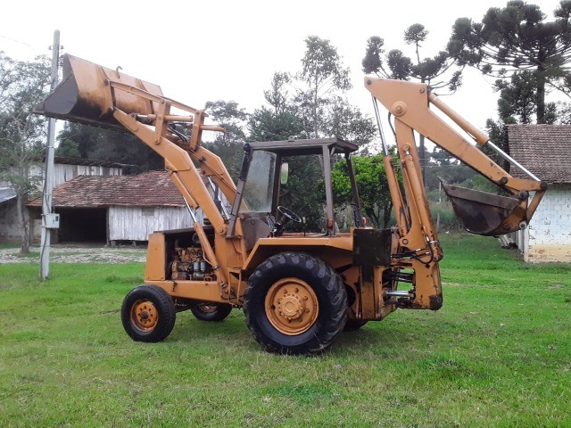 Retro escavadeira Case 580H - Foto 3