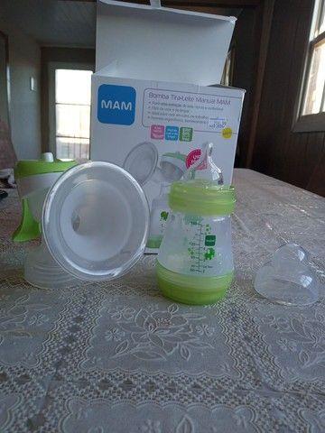 Bomba tira leite manual mam - Foto 5