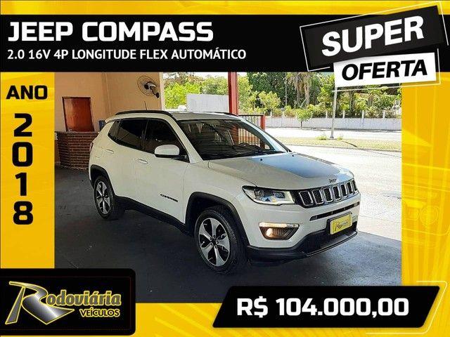 COMPASS 2018/2018 2.0 16V FLEX LONGITUDE AUTOMÁTICO