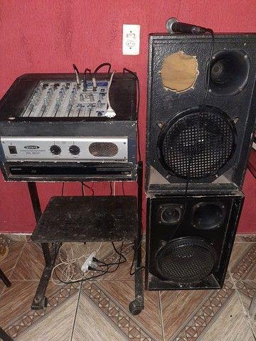 Mesa de som completa - Foto 2