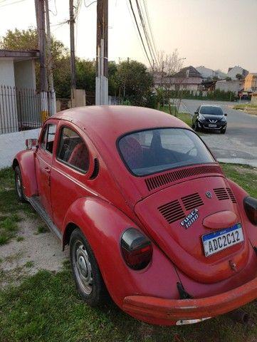 Fusca Vermelho - motor 1300 - ano 1977 - Foto 2