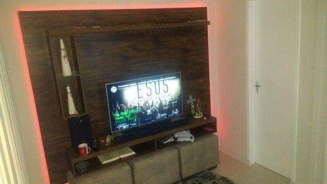 Painel para TV rústico - Foto 3