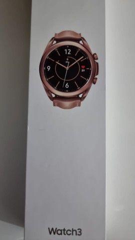 Smartwatch Samsung Galaxy watch 3 - Bronze - 41 mm - Foto 2