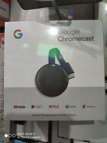 PROMOÇÃO Google Chromecast geração 3 original lacrados com garantia de 3 meses