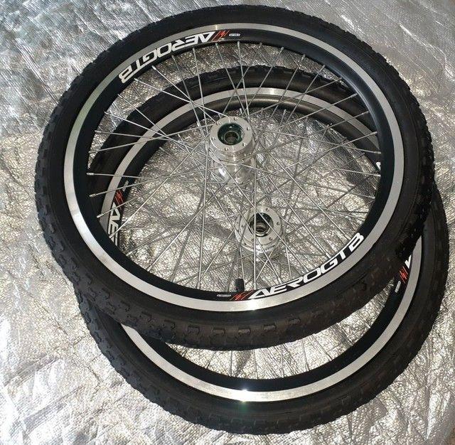 Rodas Bike aro 20  - Foto 3