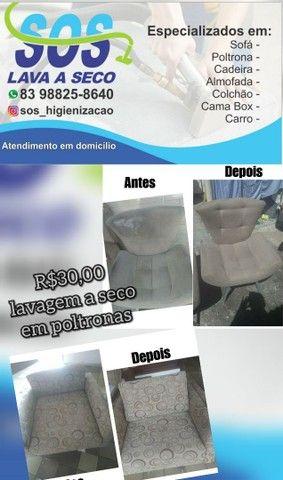 SOS HIGIENIZAÇÃO A SECO /GARANTIMOS O SERVIÇO PREÇO BAIXOU / BORA APROVEITAR - Foto 6