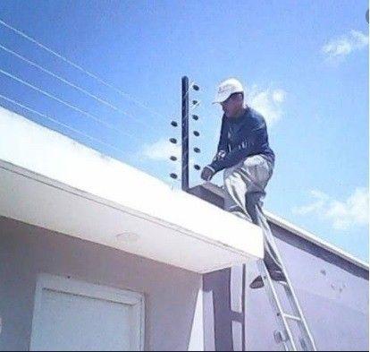 Revisão de Cerca Elétrica, Sistema de Alarmes e Câmeras