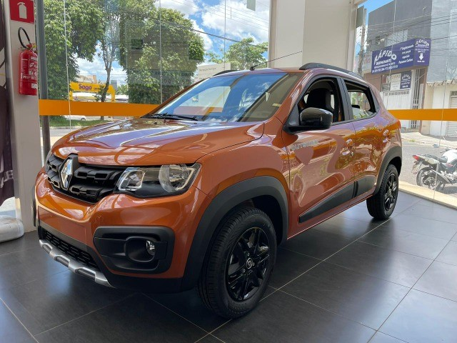 Renault kwid 21/22- Outsider- R$ 56.990,00 - 0 Km!!! Emplacado!!! - Foto 2