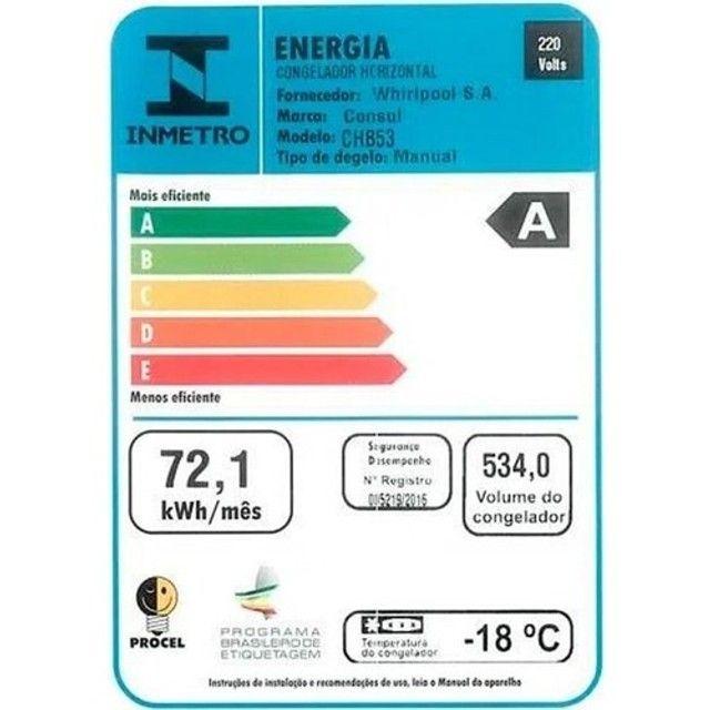 Freezer / Geladeira Horizontal Consul CHB53EB, 519 Litros, 220v Branco - Foto 3